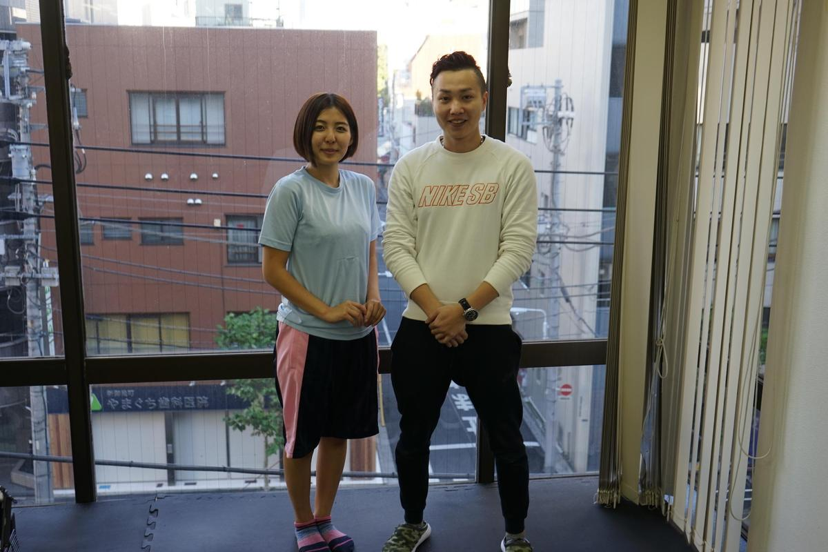 リュボーヴィの体験レポート|上野駅近くのパーソナルトレーニングジム